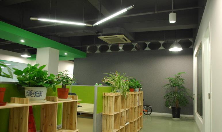 北京广告公司办公室装修设计_小型办公室[200㎡以下]