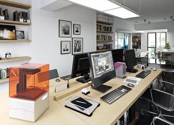 北京小型办公室装修效果图